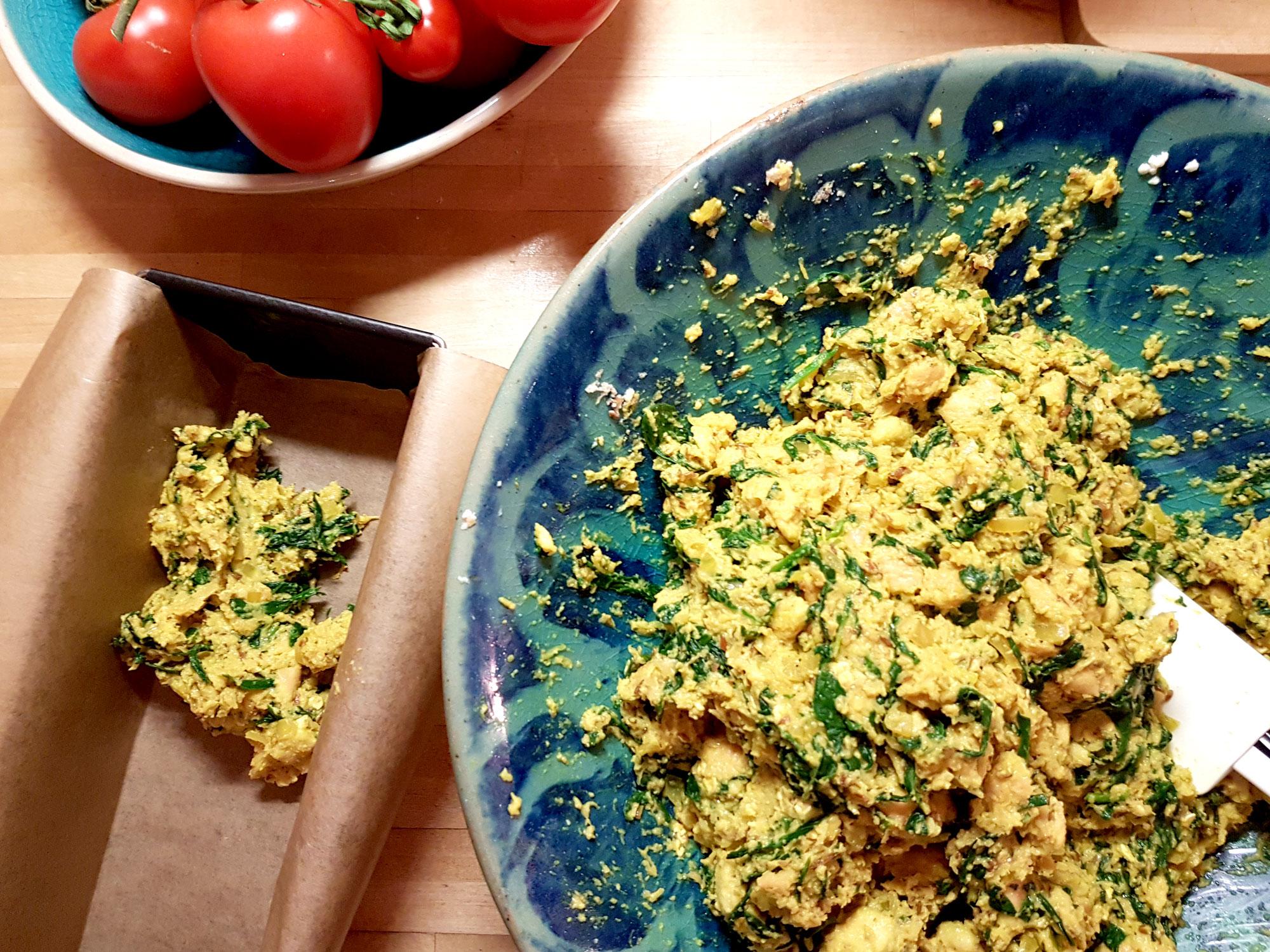 Zubereitung vegane Semmelknoedel-1