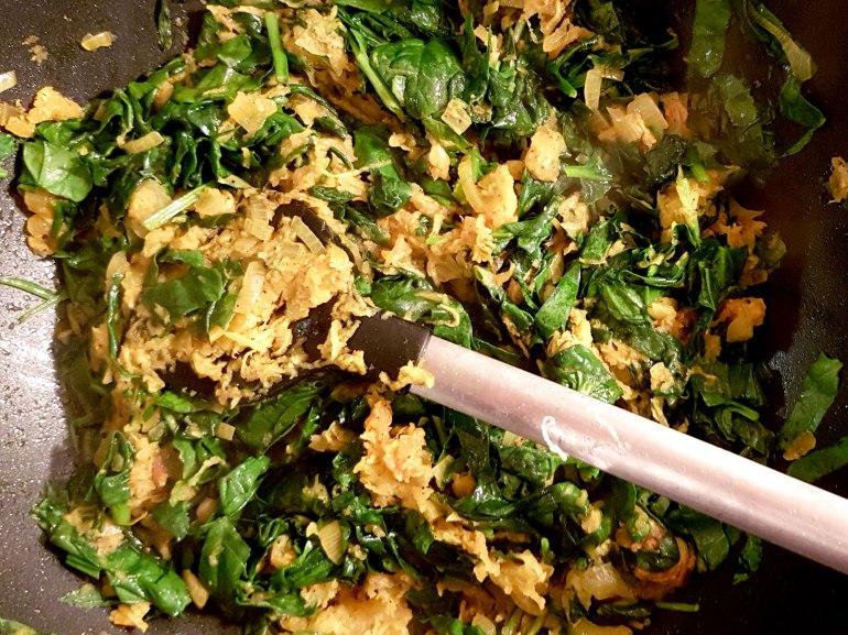 Zubereitung vegane Semmelnoedel